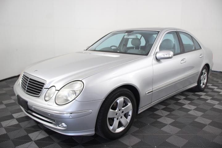 2004 (2005) Mercedes Benz E320 Elegance W211 Automatic Sedan 122,520km