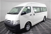 2010 Toyota Hiace Commuter KDH223R Turbo Diesel Automatic Bus