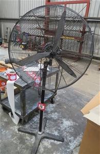 Detroit 750mm industrial pedestals fan,