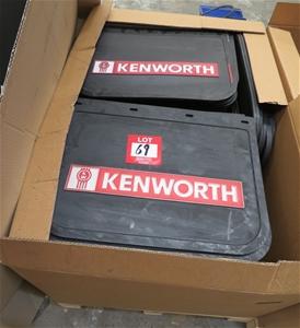 Kenworth Truck mud flaps, approx 130 pie