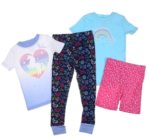 Kid`s 4pc Sleepwear Set, Size 5, Include