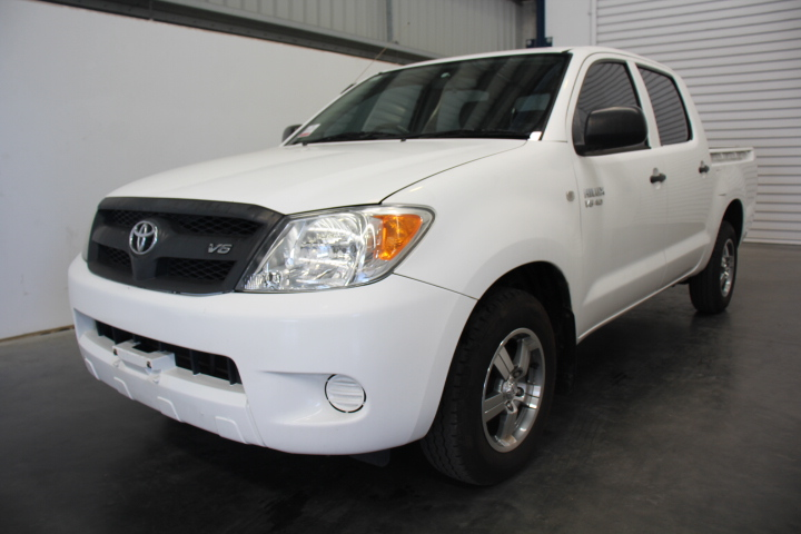 2007 Toyota Hilux SR GGN15R Automatic Dual Cab