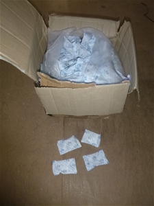 1 x Carton of Desicant Bags