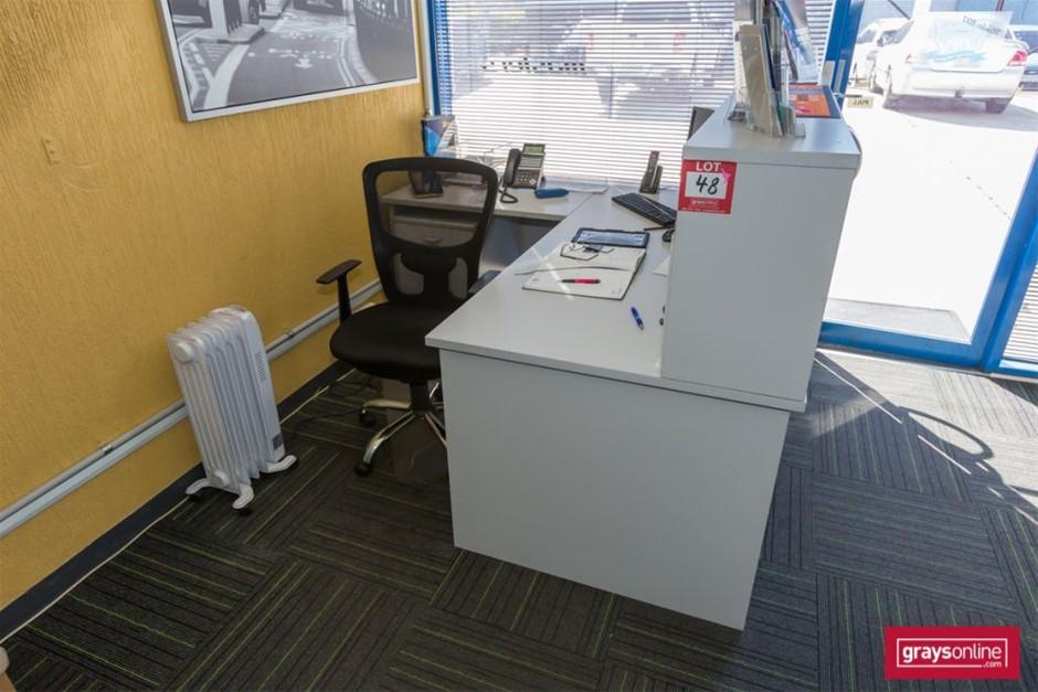 Reception Desk Assorted Office