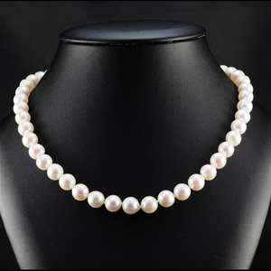 Natural Akoya Pearl Uniform Necklace 9.0