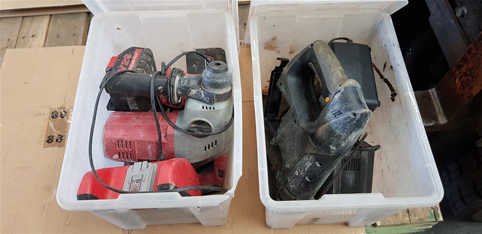 Bulk Lot Of Assorted Power Tools