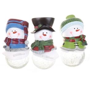3 x SOLAR Powered Christmas Ornaments -