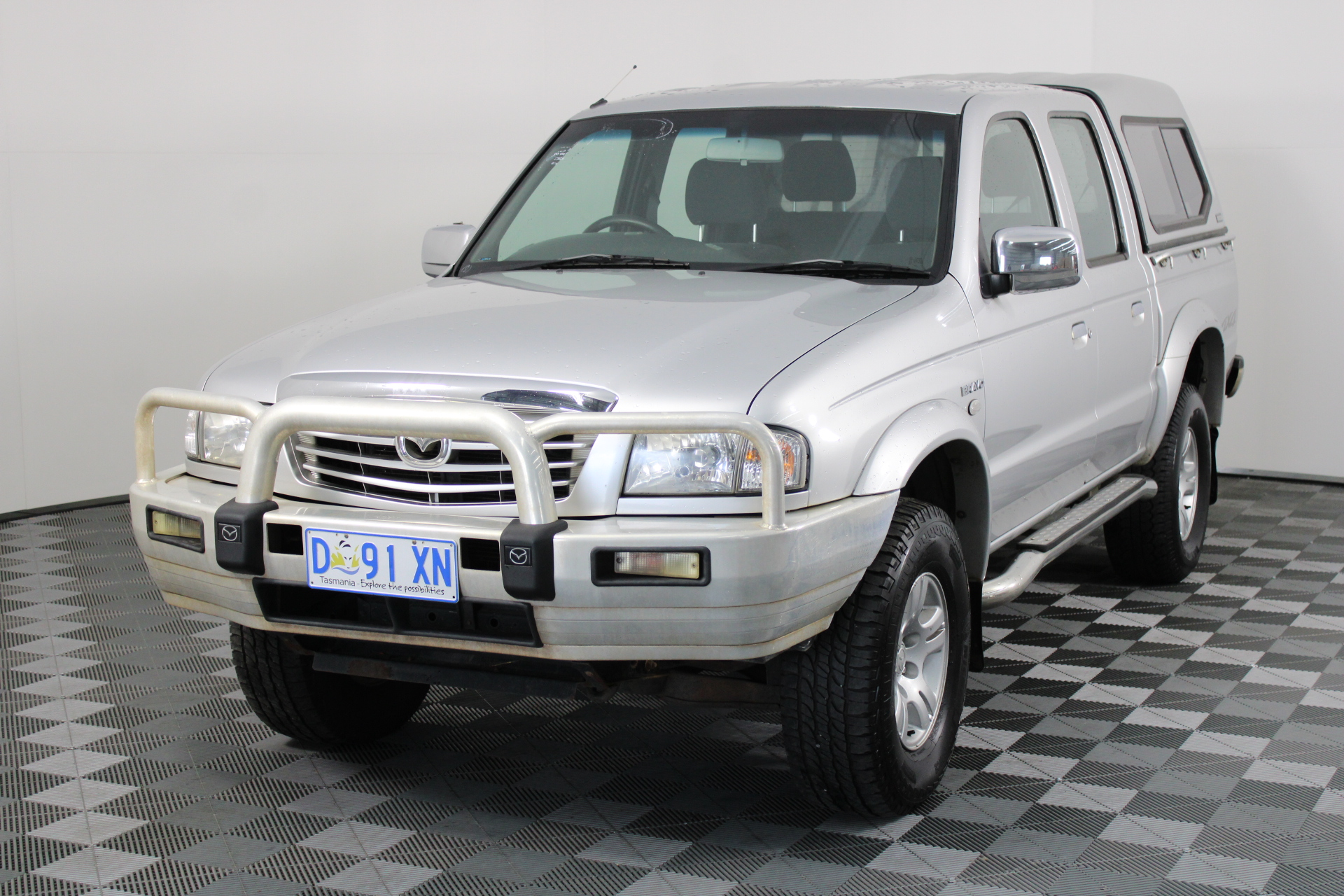 2005 Mazda B4000 BRAVO SDX (4x4) B4000 Manual Dual Cab