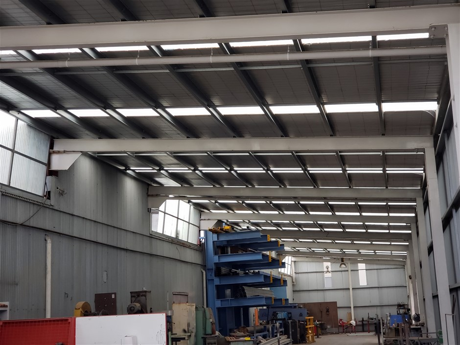 Industrial Shed Heavy Duty Construction 540m²