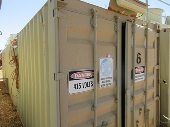 2 x 317kw Containerised Power Units