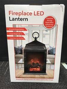 Fireplace LED Lantern