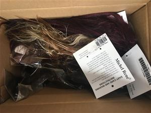 Bulk Lot of 28 Hair Extensions