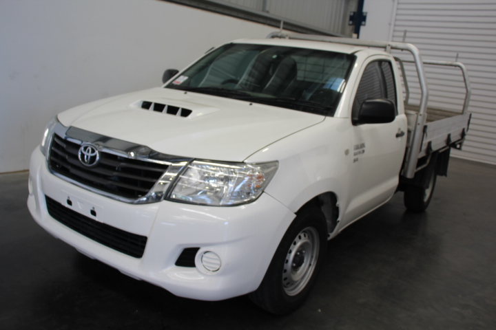 2012 MY13 Toyota Hilux 3.0 Turbo Diesel Cab Chassis 105,968 km's