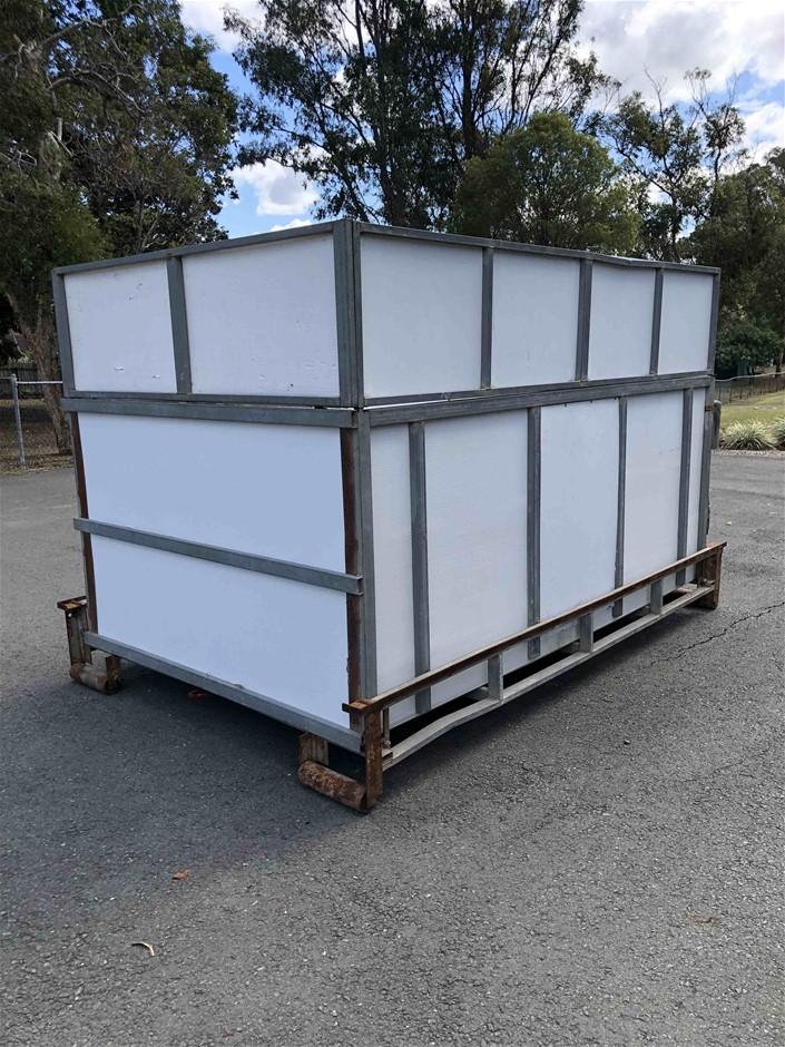 Collapsible Bin On Rollers