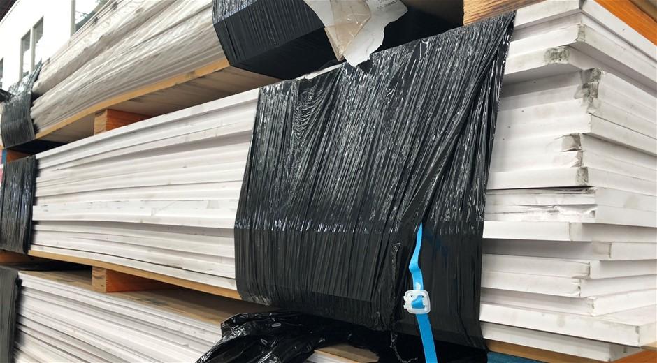 New PVC Foam Boards, 2400 x 1220, 20 sheets of 16mm