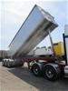 2013 Stoodley ST3325 Triaxle Grain Tipper Lead Trailer