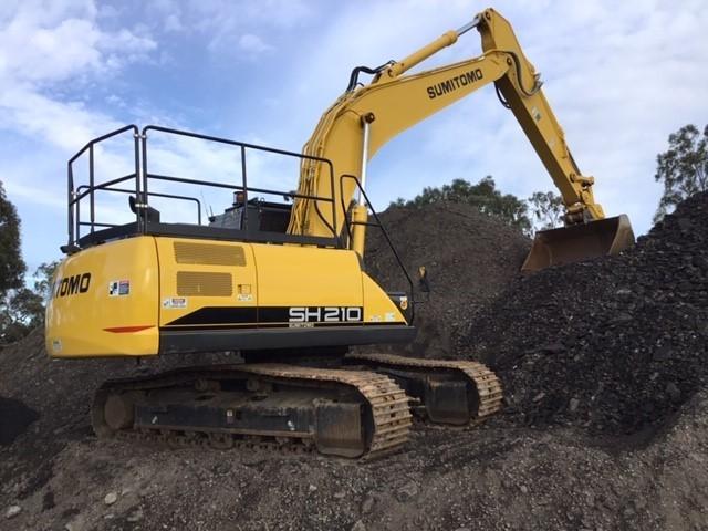 2018 Sumitomo SH210-6 Hydraulic Excavator
