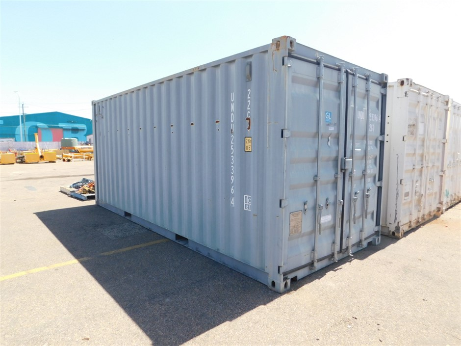 2012 SH-STDT-01 20ft Shipping Container