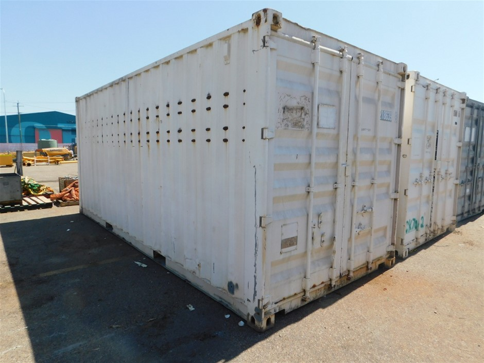 2002 20ft Shipping Container