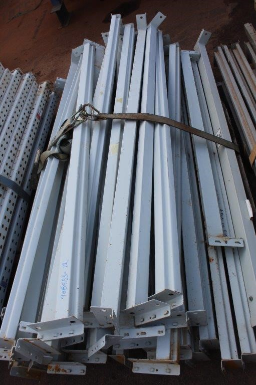 Large Quantity of Shelving Load Beams