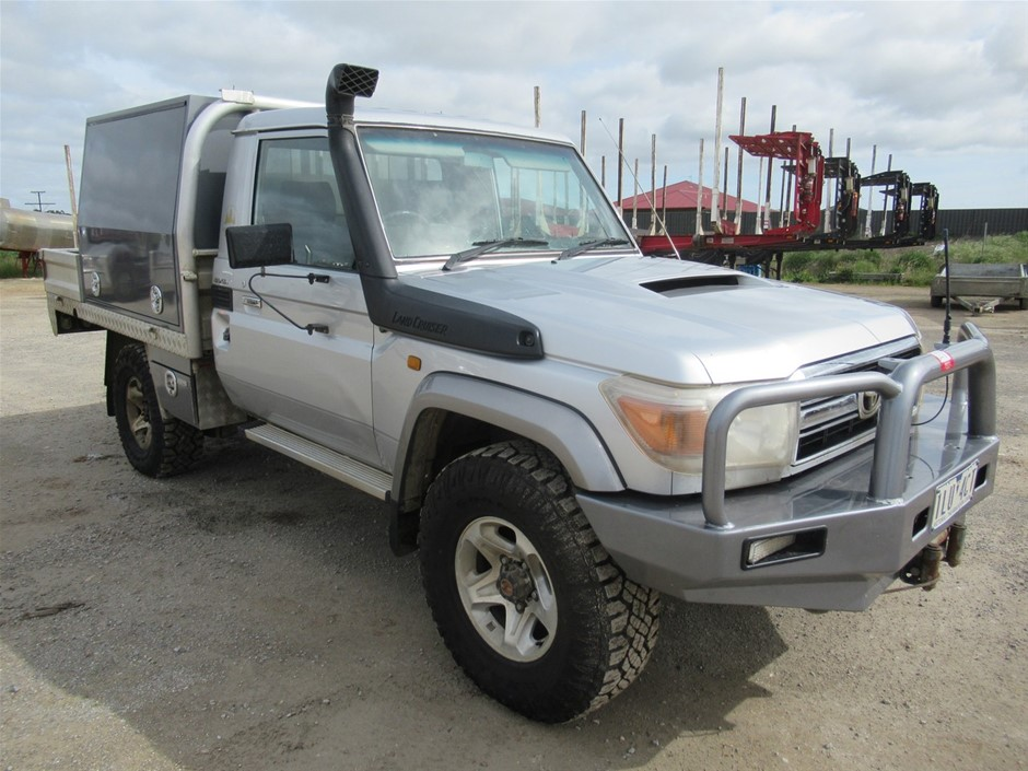 2007 Toyota Land Cruiser GXL 4WD Cab Chassis (Mt Gambier, SA)