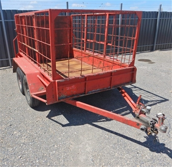Tandem & Cage Trailers