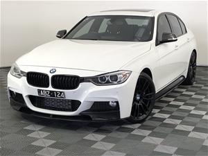 2013 BMW 3 35i F30 M Sport Automatic 8 S