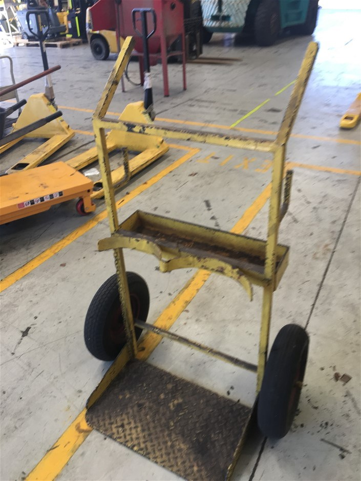 DOUBLE GAS BOTTLE TROLLEY