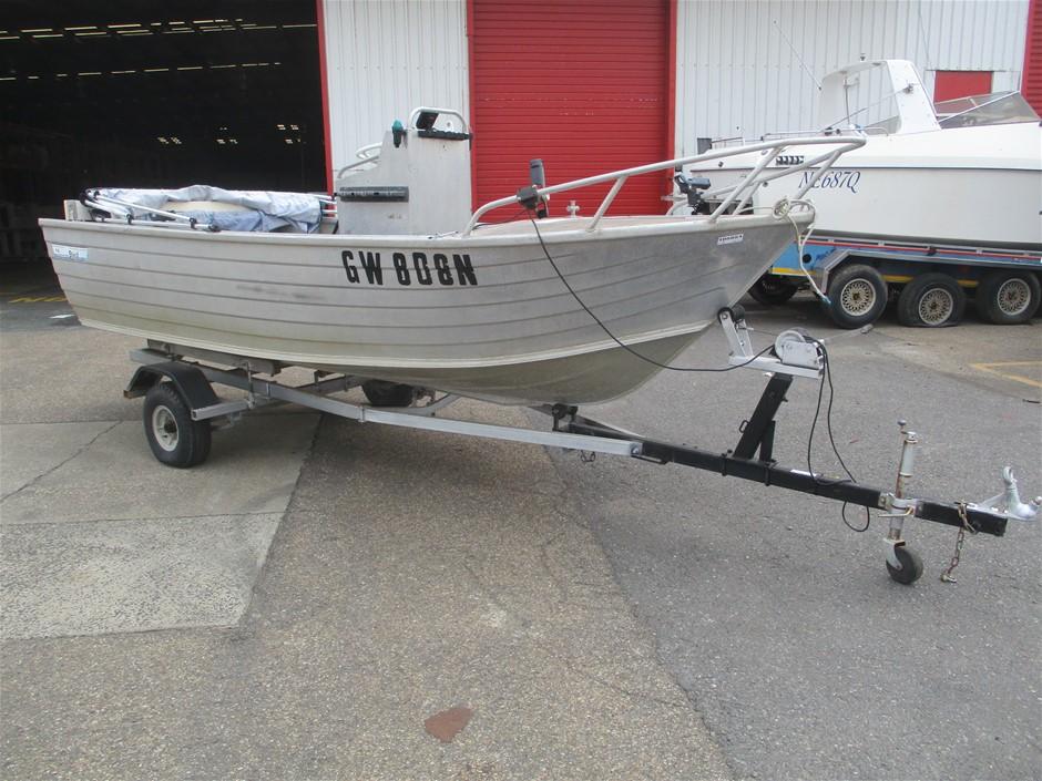 Stessl Alloy-Craft 4.6 Boat