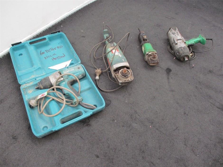 Qty 4 x Power Tools