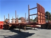 Freighter Triaxle Log Trailer