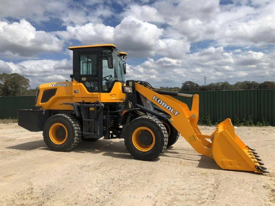 2019 Kobolt K938 Wheel Loader