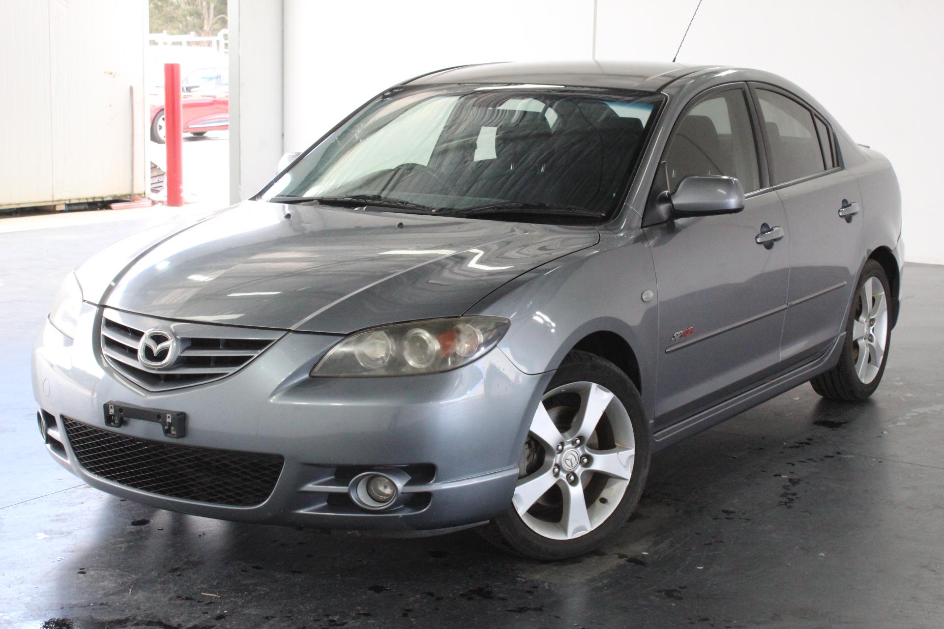 2004 Mazda 3 SP23 BK Manual Sedan