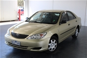 Unreserved 2002 Toyota Camry Altise MCV36R Automatic Sedan