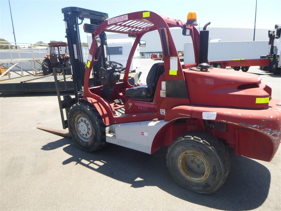 2011 Mast Explorer H30DSI 3T Rough Terrain Forklift (Location: Jandakot)