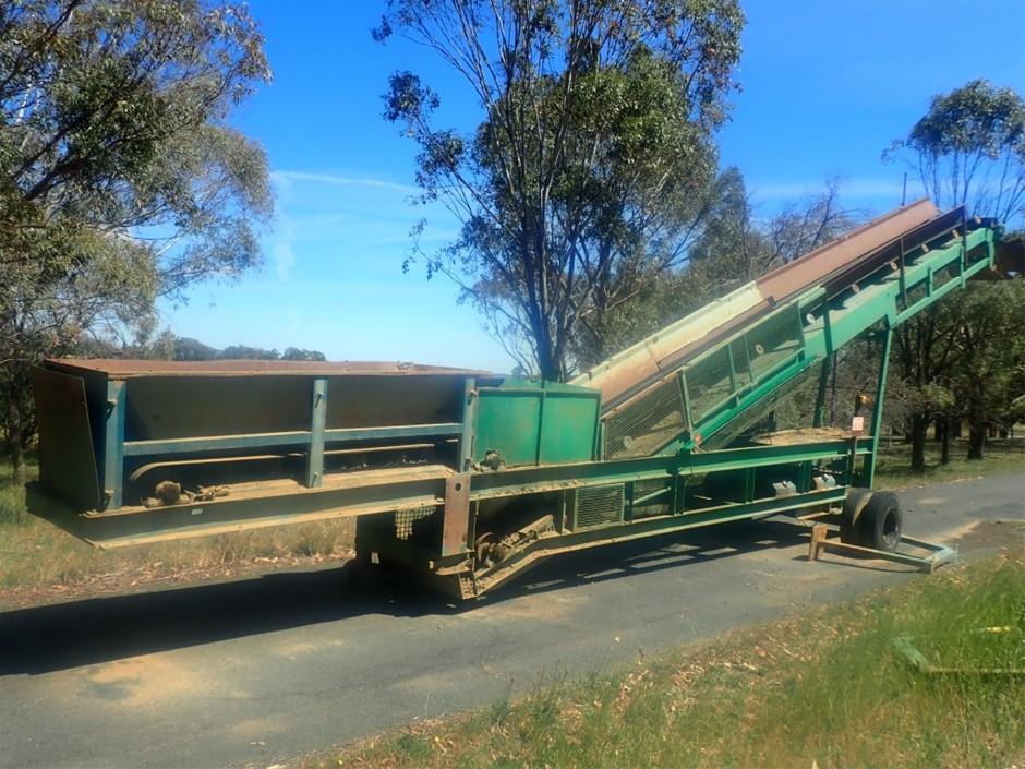 14000x 700 wheeled conveyor