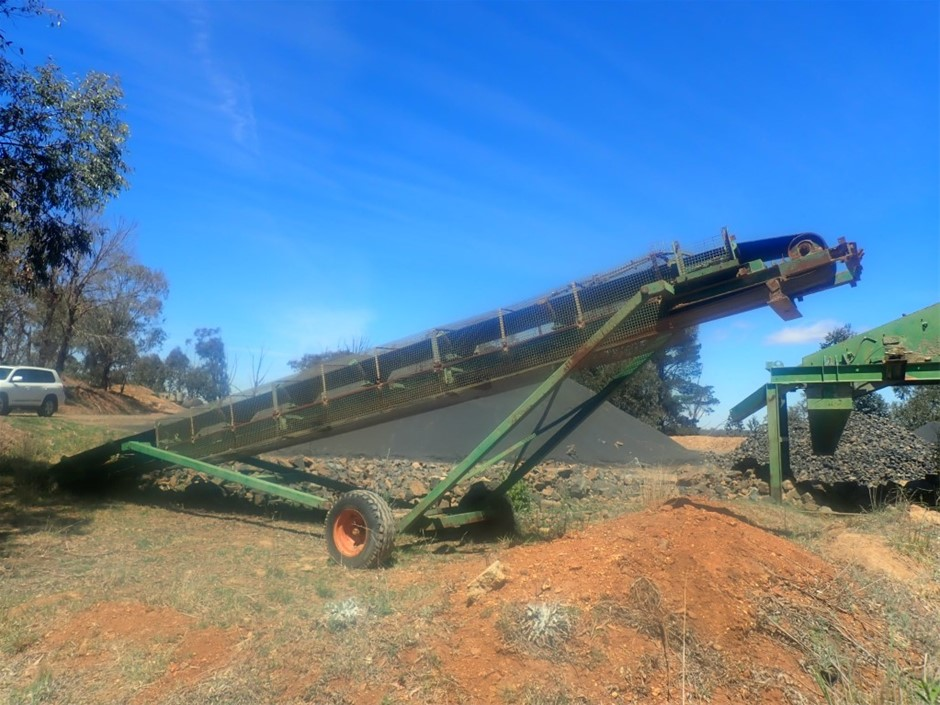 Conveyor 12m x 600mm belt