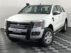 2012 Ford Ranger XLT 3.2 (4x4) PX Turbo