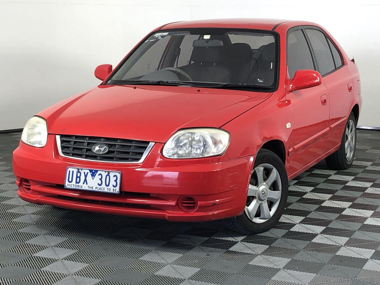 2004 Hyundai Accent 1.6 LS Automatic Hatchback
