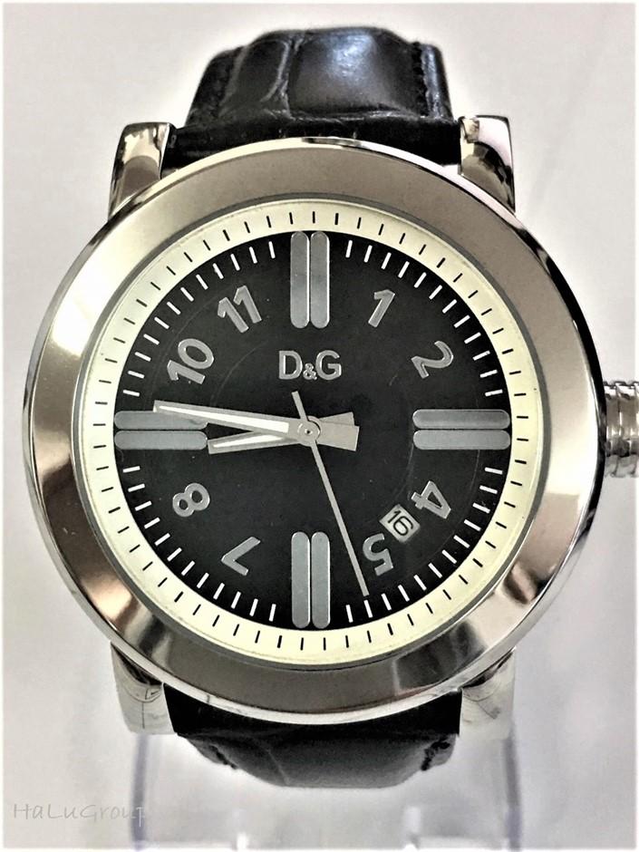 Stylish men's Dolce & Gabbana Italian luxury Designer watch.