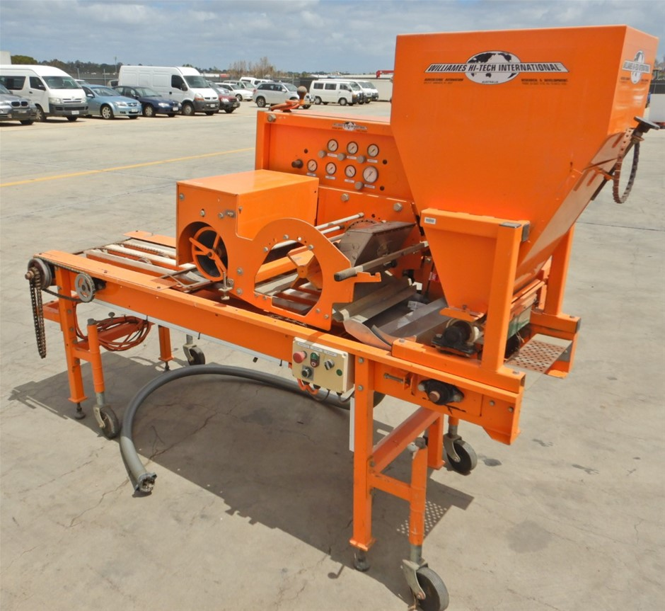 Williames Hi Tech International ST750 Rotary Drum Seeder (Pooraka, SA)