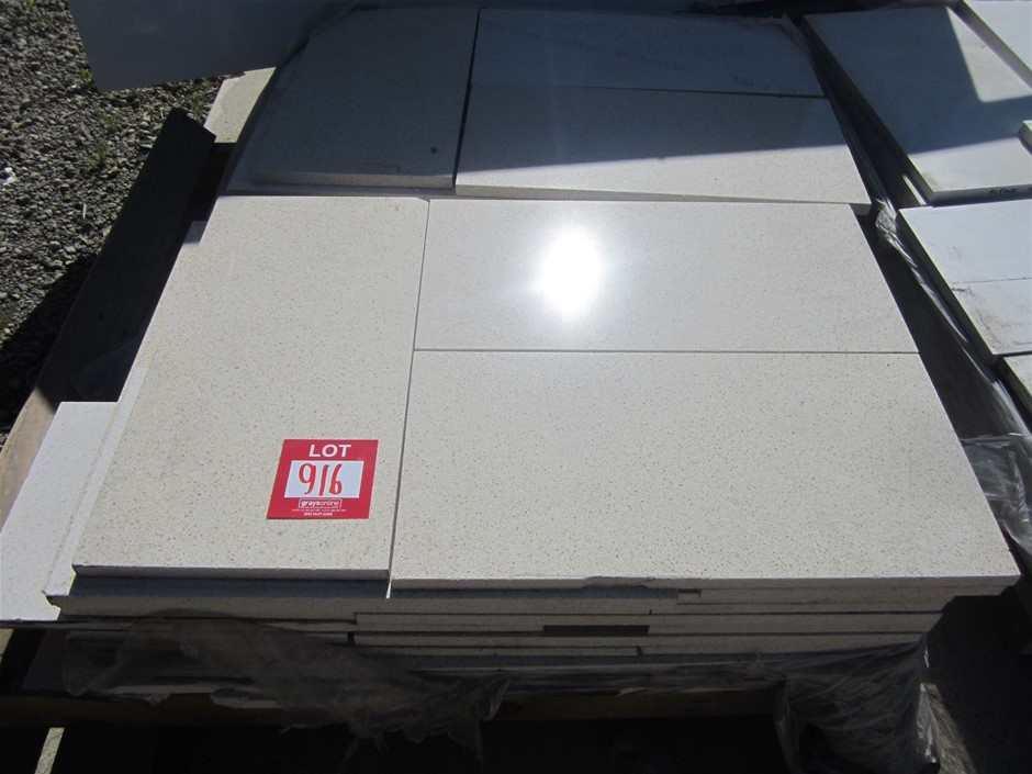 Pallet of approximately 60 units of Caesarstone Tiles
