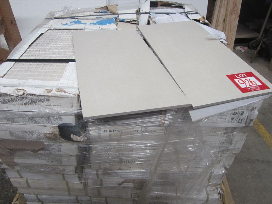10 boxes of Cuppacino Porcelain Tiles 600mm x 300mm.