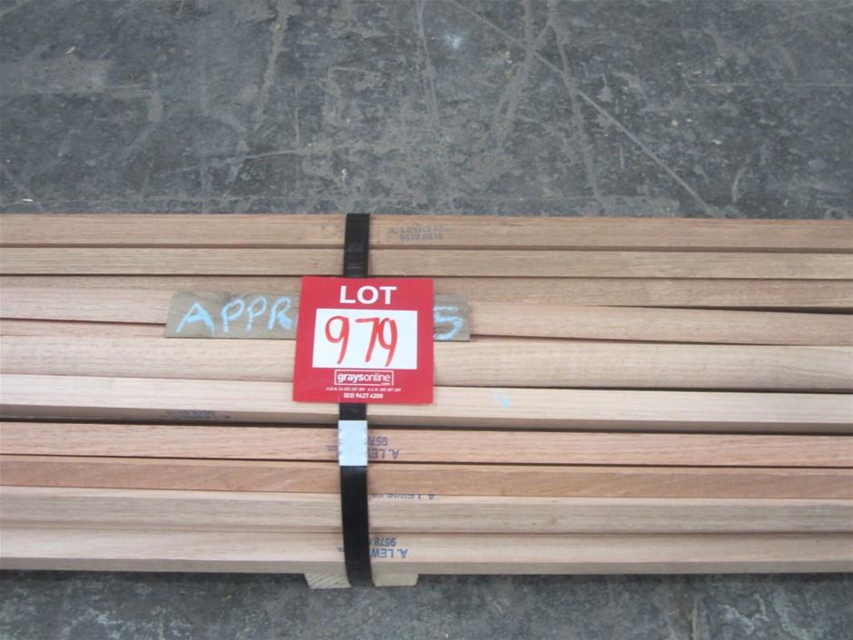 Pack of 22mm Hardwood Quad.