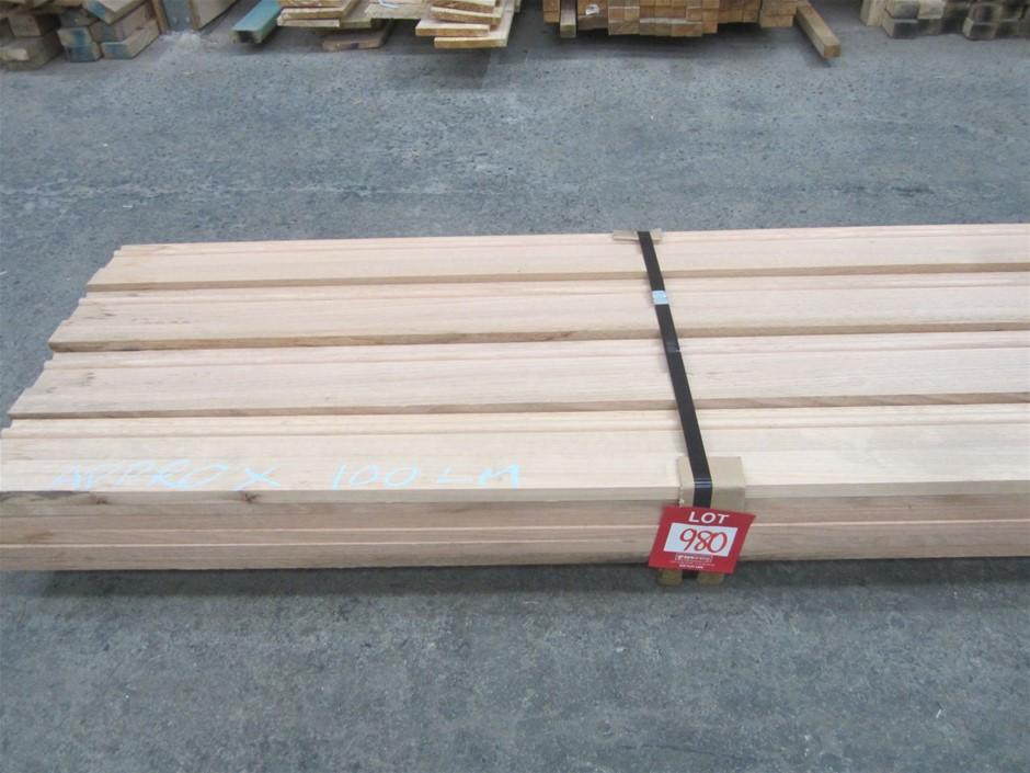 Pack of 140mm x 19mm Tasmanian Oak Select Grade Colonial Skirting.
