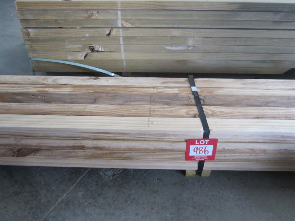 Pack of 70mm x 45mm H3 Treated Pine.