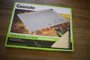 Gasmate Stainless Steel Plate 315mmx425