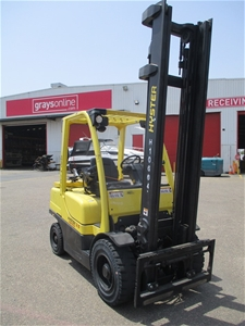 2014 Hyster H3.5FT Counterbalance Forkli