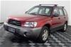2002 Subaru Forester XS Manual Wagon