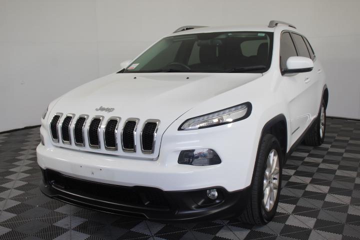 2014 (2016) Jeep Cherokee Longitude (4x4) KL Auto Wagon 51,682km